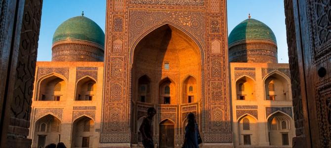 Khiva, Bukhara e Samarkand no Uzbequistão