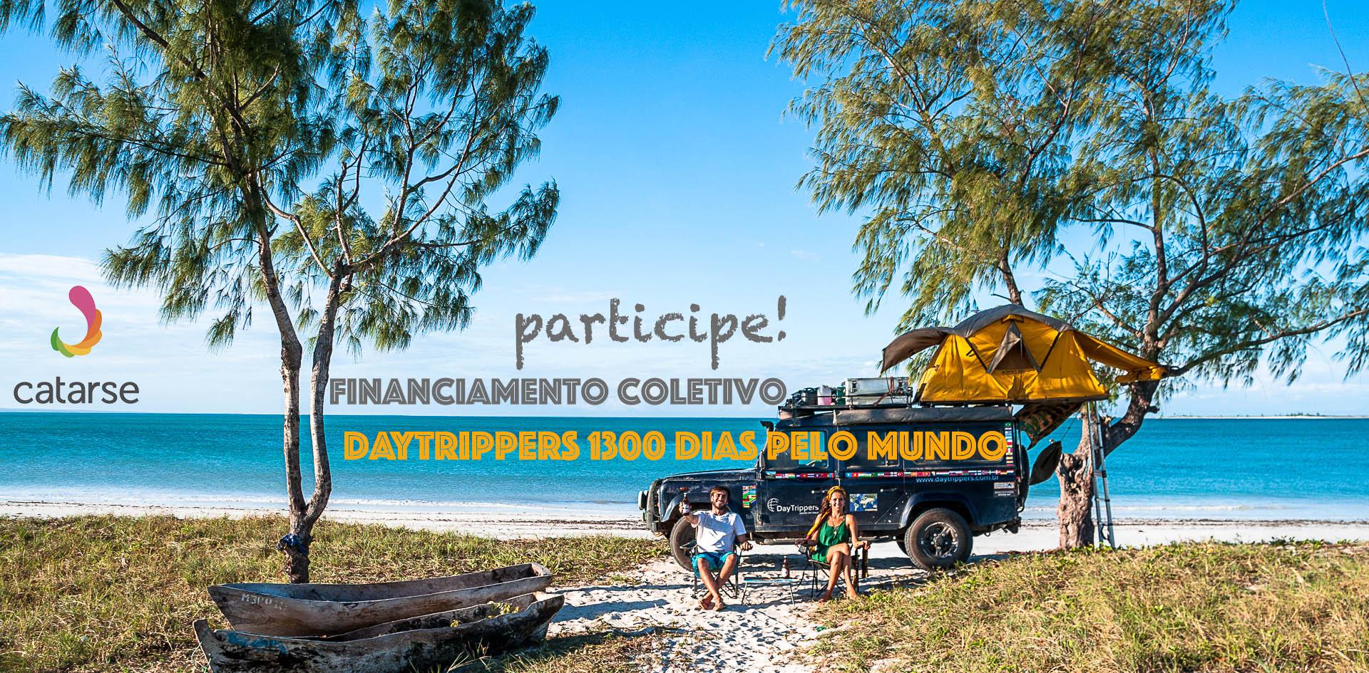 Participe do Financiamento Coletivo do Nosso Livro: DayTrippers – 1300 dias pelo mundo